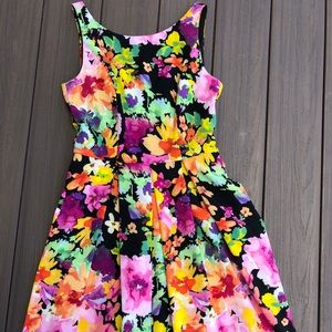 The Limited Floral Mini Dress